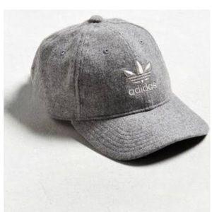 adidas Other - adidas Wool Relaxed Baseball Hat - Grey a5dbeba2175a